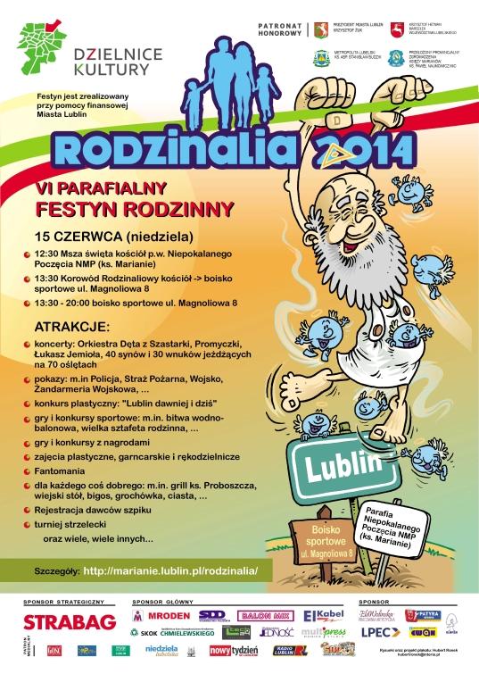 Program Festynu Rodzinalia 2014 | Fundacja KReAdukacja