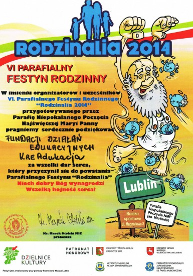 Rodzinalia 2014 | Fundacja KReAdukacja | Lublin