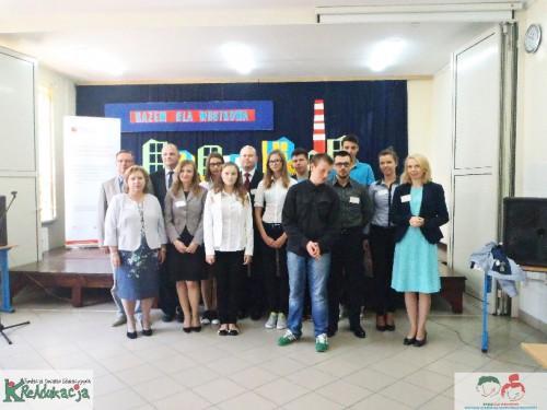 konferencja podsumowująca projekt, Razem Dla Wrotkowa, wrotkow.kreadukacja.org, fotorelacja, zdjęcia, Gimnazjum nr 3 w Lublinie, 12 września 2014