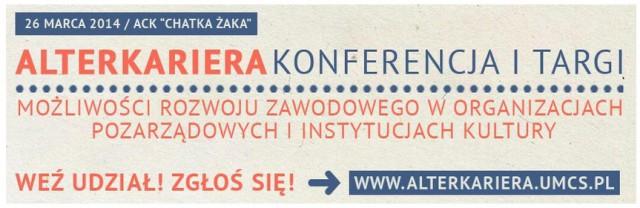 AlterKariera-targi konferencje UMCS ACK Chatka Żaka Lublin 26 marca 2015 Fundacja KReAdukacja-avatar,AlterKariera, 2015, Fundacja KReAdukacja, UMCS, ACK Chatka Żaka, targi, konferencje, NGO, możliwości rozwoju zawodowego, praca w organizacjach pozarządowych, praca w instytucjach kultury