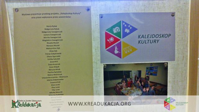 Kalejdoskop Kultury, wystawa prac, Filia nr 37 MBP w Lublinie, 22-25 czerwca 2015, Fundacja KReAdukacja, zdjęcia, Dzielnice Kultury