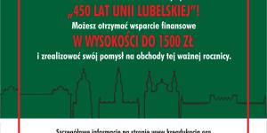 inicjatywa z okazji 450 lat unii lubelskiej-Fundacja KReAdukacja-plakat informacyjny