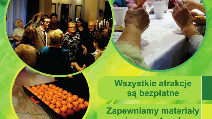 """Projekt dla seniorów w Lublinie """"Młodość wczoraj i dziś"""""""